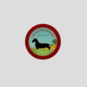 Dachshund [wire-haired] Mini Button